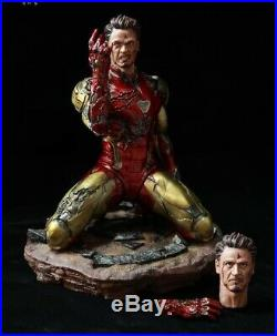 Unpainted and unassembled 1/6 ironman mk 85, i am the ironman, resin model kit