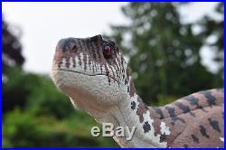 Utahraptor resin dinosaur model kit 1/6 scale HUGE Jurassic World Park