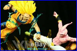 VKH Son Goku VS Buu Resin Model kits GK Dragon Ball Z Super Sanyan Recast New