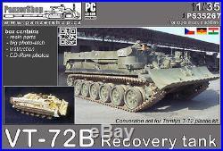 VT-72B Recovery Tank CCCP resin conversion 1/35 PanzerShop Tamiya PS35267