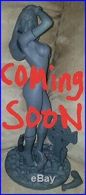 Vampirella 16 Resin Model Kit. New Offering From Solarflare Prod. & R. A. W