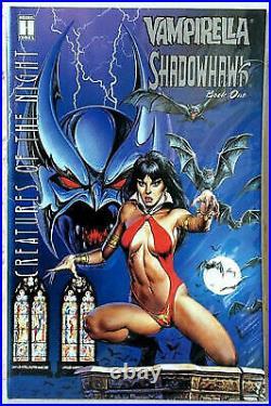 Vampirella On Rooftop Shadowhawk Comics Joe Jusko Art Work 15 Resin Model Kit