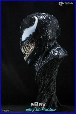 Venom Bust Resin Model Kits Unpainted GK New 1/2 Scale