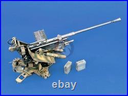 Verlinden 120mm (1/16) German 3.7cm FlaK 37 Anti-Aircraft Cannon WWII 1031