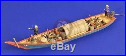 Verlinden 1/35 Large Sampan Wooden Boat in Vietnam War Resin Model 2516