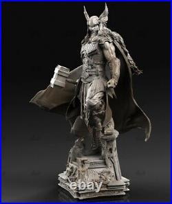 Viking Thor Unpainted Resin Kits Model GK Figurine Statue 3D Print 1/6 15in