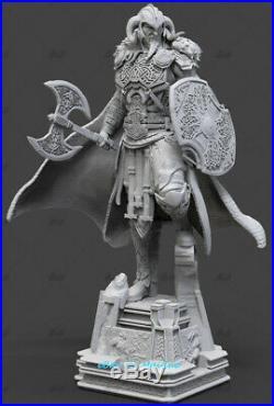 Viking Thor Unpainted Resin Kits Model GK Figurine Statue 3D Print 1/6 New
