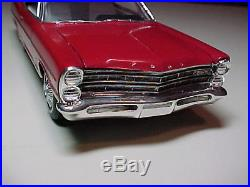 Vintage AMT/ Resin 1967 Ford Galaxie 500 XL Pro Built Model car Scaled 1/25 NICE