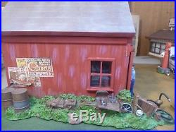 WCPD1950'S barn style runkle's garage new old stock 1/24 1/25 no longer produced