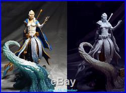 WOW Jaina Proudmoore Unpainted Resin Kits Model GK Figurine 3D Print 1/8 30cm
