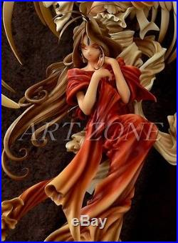 (W 562)1/6 Oh! My goddess Belldandy with Holy Bell Unpainted Resin Figure Kit