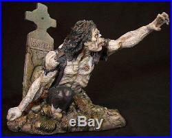 Walking dead zombie corpse resin model kit cemetery simon garth horror gore cool