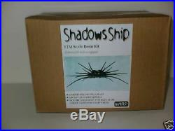 Warp Models Babylon 5 Shadows Spider Ship Resin Kit