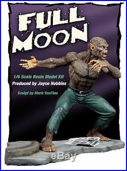 Werewolf by Night resin model kit 1/6 scale full moon JACK RUSSELL