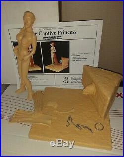 Wilco Models Priincess Leia Star Wars The Captive Princess Resin Kit Rare Oop