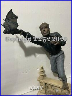Wolfman Resin Model Kit 16 Yagher Abbot & Costello Meet Frankenstein Diorama
