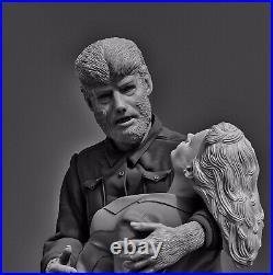 Wolfman With Gwen -Original Movie Resin Model Kit