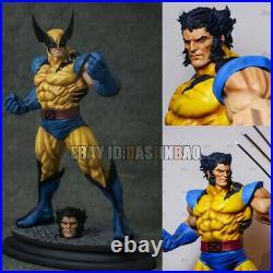Wolverine Unpainted 1/6 Resin Figure 3D Print Model Kit Unassembled GK H33cm