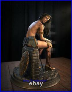 Wonder Woman Sexy 1/4 Statue Resin Model Unpainted 3D Print Unassemble Cast Off