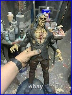 Wrightson inspired Unpainted resin model kit 1/6 17 inches tall