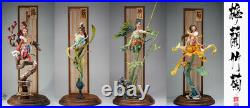 YUANXINGLIANG Studio Plum Orchid Bamboo Chrysanthemum Resin Kits Unpainted GK