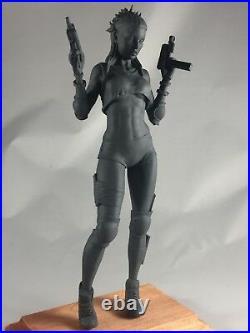 Yolandi Visser 8 inch resin statue figure Die Antwoord Ninja action figure