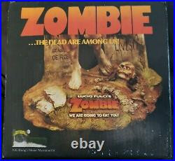 Zombie full figure resin model kit Lucio Fulci Flesh Eaters RARE William Paquet