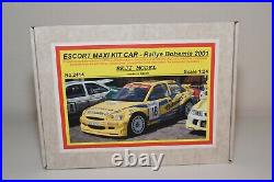 Zz 124 Reji Model Resin Ford Escort Maxi Kit Car Rallye Bohemia 2001 Mib Rare